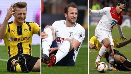 Los jugadores que se perdieron un Mundial por estar lesionados