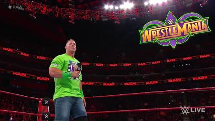 John Cena no se rinde y pide al Undertaker en WrestleMania 34