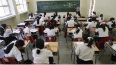 Indeci aconseja proteger a escolares ante eventuales lluvias