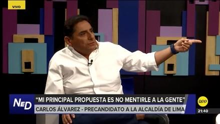 Carlos Álvarez lanzó su precandidatura a la alcaldía de Lima