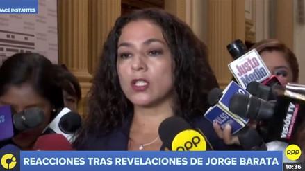 Chacón negó que Fuerza Popular haya aportado a campañas de sus congresistas