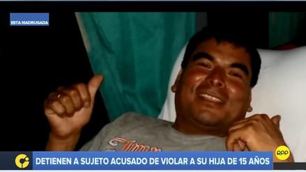 Detienen a sujeto acusado de violar a su hija de 15 años en Barranco