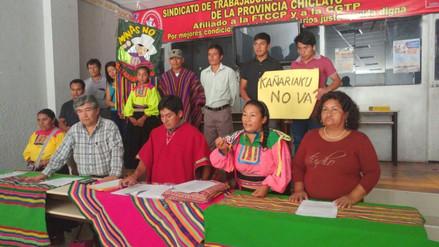 Familias de Kañaris rechazan venta de terrenos para proyecto de internet