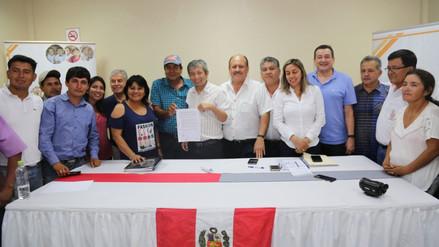 Productores de maíz levantaron huelga tras firmar acuerdo