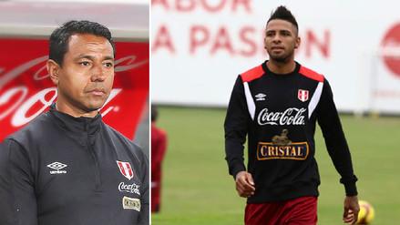 Nolberto Solano sobre Alexi Gómez: