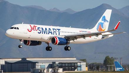 Aerolínea de bajo costo JetSMART obtiene permiso para operar en Perú