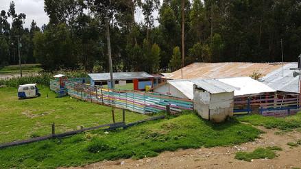 Huancayo: colegio en riesgo por incremento del caudal del río Chanchas