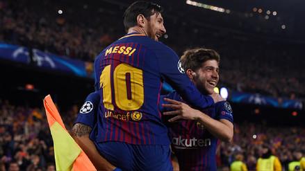 Lionel Messi abrió la cuenta en el Camp Nou tras error de Thibaut Courtois