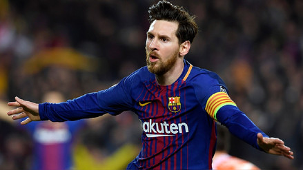 Lionel Messi llegó a los cien goles en la Champions League
