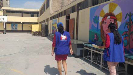 Defensoría pide acelerar obras en colegios consignados en plan de reconstrucción