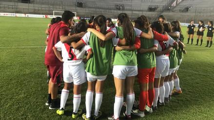 Selección Peruana Femenina Sub-17 venció 2-1 a Ecuador en Sudamericano