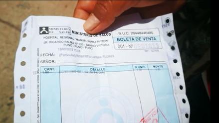 Mujer denunció cobro de 5 soles por cargar su celular en hospital de Puno