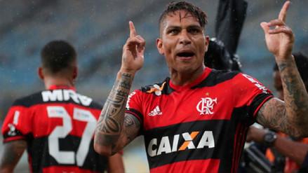 Flamengo reactivó contrato de Paolo Guerrero