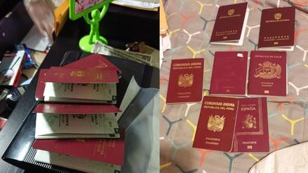 Desarticulan organización criminal dedicada a falsificar pasaportes