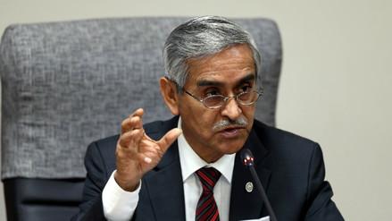 Presidente del Poder Judicial pide