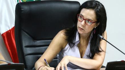Marisa Glave: Vamos a votar por la admisión a trámite del pedido de vacancia