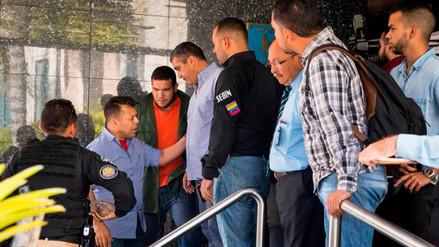 Detienen a exministro chavista cuando daba un discurso contra Maduro