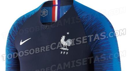 Cambio total: se filtró las nuevas camisetas de Francia para el Mundial Rusia 2018