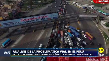 """Especialista mexicano en tránsito: """"Estoy impresionado con el tráfico de Lima"""""""