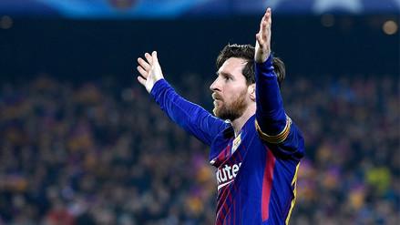 Lionel Messi agradeció a los hinchas de Barcelona en sus redes sociales