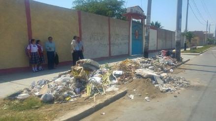 Sensibilizarán a colegios de Chiclayo para prevenir acumulación de basura