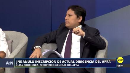"""Elías Rodríguez: """"No voy a permitir un robo flagrante a la voluntad de las bases del APRA"""""""