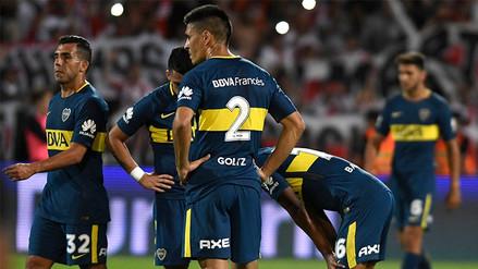 Bandera de Boca Juniors se rompió en pleno partido y se volvió viral en redes