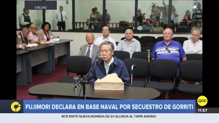 Alberto Fujimori rindió su declaración en el juicio a Montesinos por el caso Gorriti