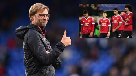 Jurgen Klopp y la cruel broma al Manchester United tras el sorteo de Champions
