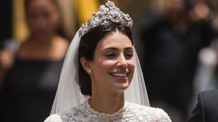 La historia de la joya real que usó Alessandra de Osma en su boda