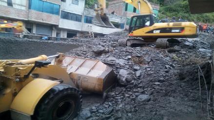 Huaico tapó dos casas y afectó servicios básicos en Sandia