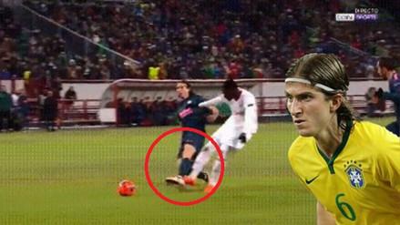 Esta brutal lesión dejó fuera del Mundial a Filipe Luis