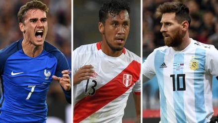 Repasa el cronograma de los amistosos más importantes de la Fecha FIFA
