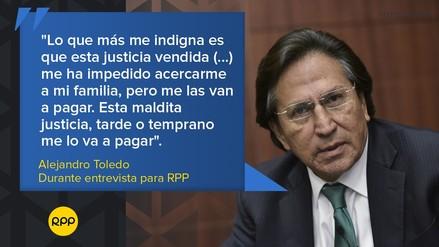 Las frases que dejó Alejandro Toledo en su entrevista a RPP Noticias