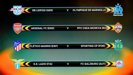 La UEFA sorteó los cuartos de final de la Europa League