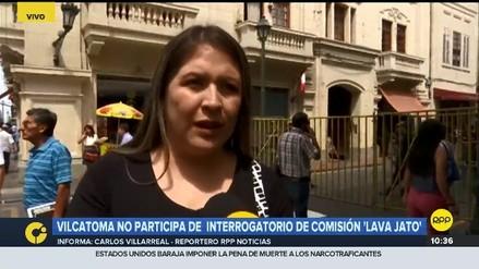 Vilcatoma dijo que no la dejaron participar en el interrogatorio a PPK porque le