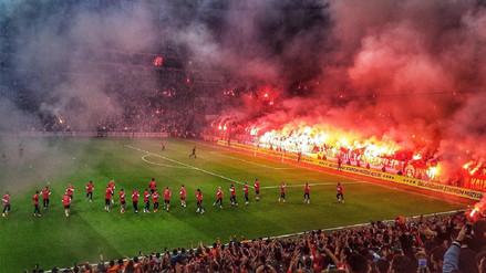El increíble entrenamiento Galatasaray previo al clásico ante el Fenerbahce