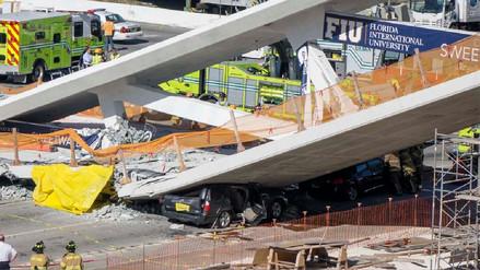 Un ingeniero advirtió de agrietamiento en puente de Miami antes de que colapsara