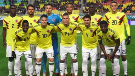 Colombia y sus convocados contra Francia y Australia, rivales de Perú en Rusia 2018