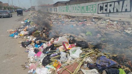 Declaran en emergencia al distrito Leonardo Ortiz por acumulación de basura