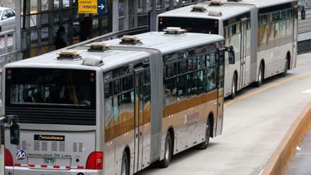 Protransporte anunció suspensión de huelga de conductores del Metropolitano