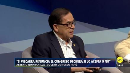 """Alberto Quintanilla: """"No vacar a PPK mantendría la profundización de la crisis"""""""