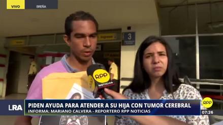 Una pareja de venezolanos pide ayuda económica para la operación de su hija