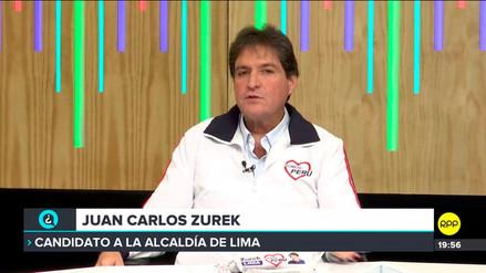 Zurek: nosotros sí administramos, no como otros que no administran ni un puesto de raspadilla