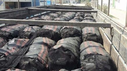 68d10f025564c Chiclayo  Decomisan más de 13 toneladas de carbón vegetal de algarrobo