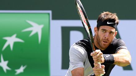 Del Potro salvó 3 match points contra Federer y fue campeón en Indian Wells