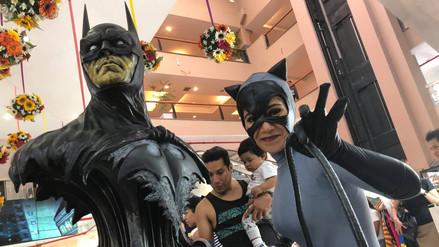 Batman Fest expuso cientos de artículos de colección en Chacarilla