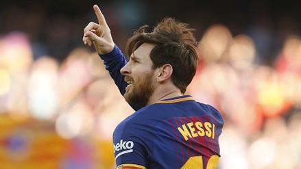 Lionel Messi alcanzó los 500 goles con el dorsal 10 del Barcelona