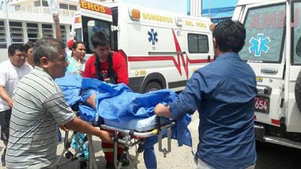 Despiste de bus dejó más de 30 heridos en la vía Piura - Paita
