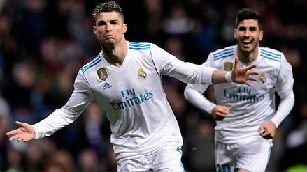 Real Madrid venció 6-3 al Girona con póker de Cristiano Ronaldo